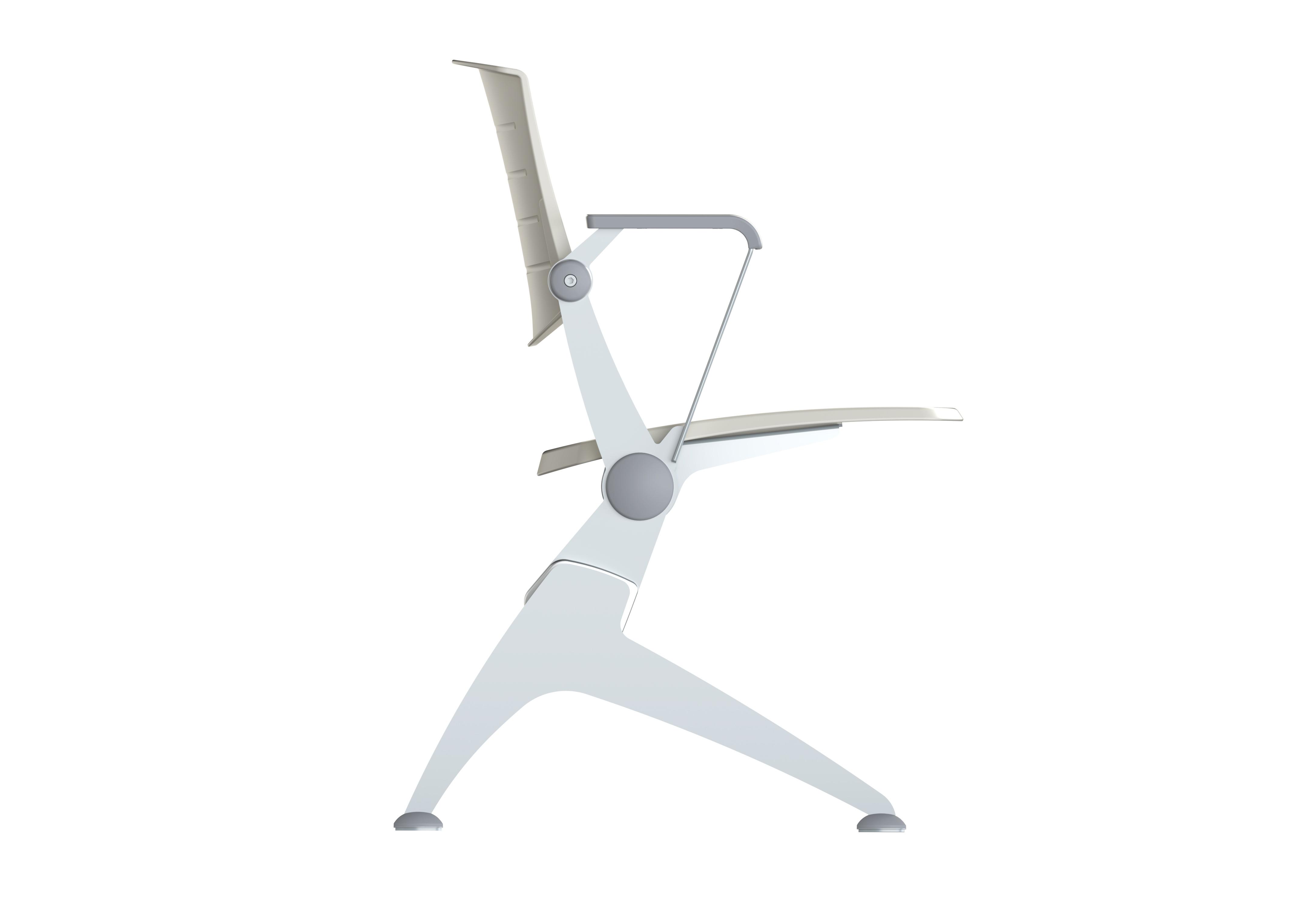 3 posti pp senza braccioli piede mobile LATO